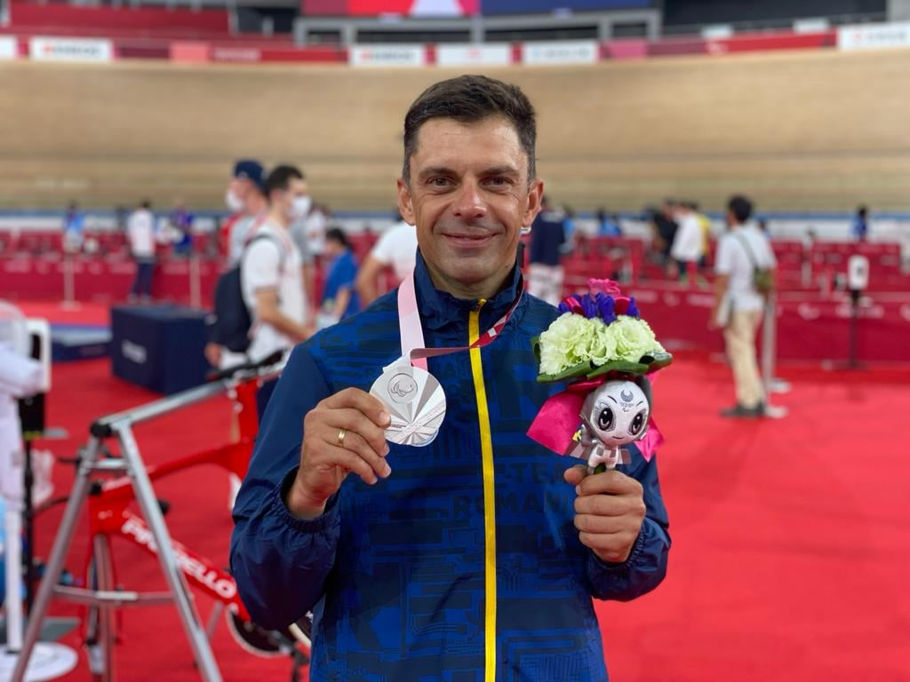 Ministrul Sportului a obţinut medalia de argint la Jocurile Paralimpice de la Tokyo