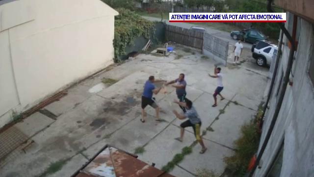 Trei bărbați reținuți, după ce au intrat în curtea unui pădurar și l-au bătut, în Dâmbovița