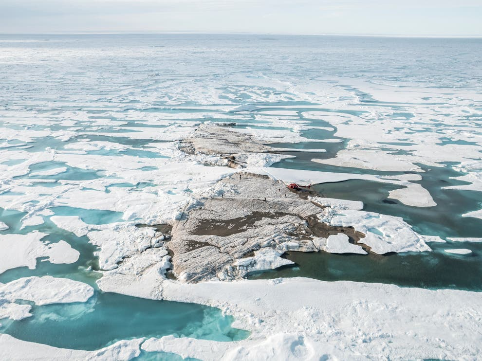 """""""Cea mai nordică insulă a lumii"""", descoperită de oamenii de știință, în apropierea Groenlandei"""