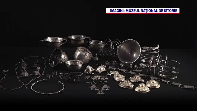 Peste 800 de artefacte din tezaurul României au ajuns la Madrid. Expoziția poate fi vizitată gratuit
