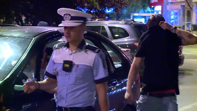Un șofer din Capitală, prins la volan sub influența mai multor droguri