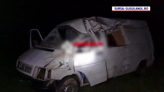 Accident grav în județul Caraș-Severin. Cum a reușit un bărbat să-și salveze viața