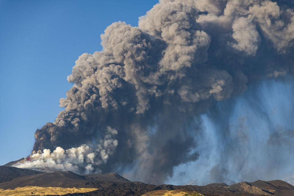 O nouă erupție masivă a vulcanului Etna, a fost înregistrată la sfârșitul săptămânii