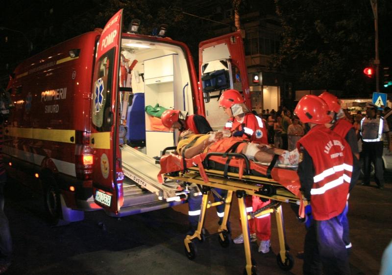 Imprudenta unei soferite din Mures, grabita spre spital cu sotul bolnav, a dus-o direct la urgenta