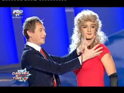 Mircea Solcanu si-a luat partener de dans!