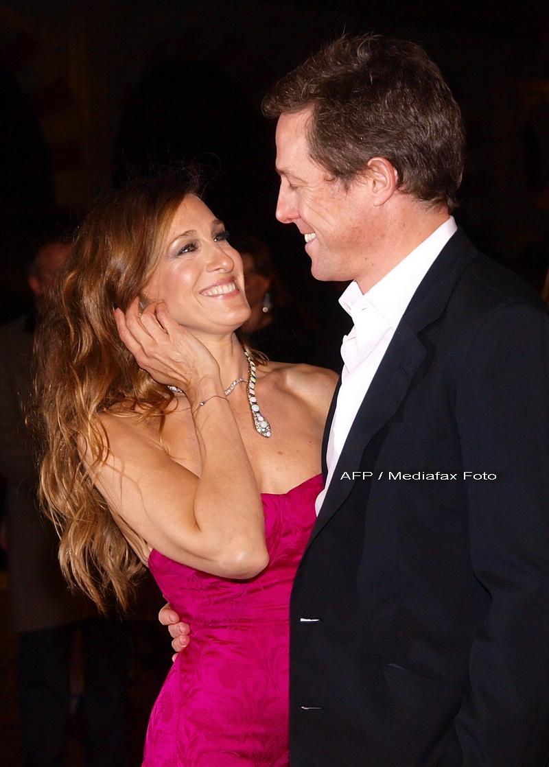 Hugh Grant, atingeri interzise cu Sarah Jessica Parker!