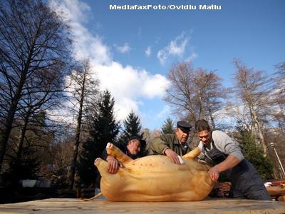 Cine vrea de Craciun carnati afumati, caltabosi, ori slanina, trebuie sa se grabeasca sa taie porcul