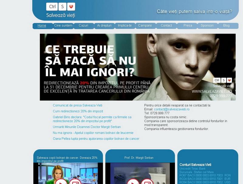 Poti salva un copil bolnav de cancer! Doneaza 20% din impozitul pe profit