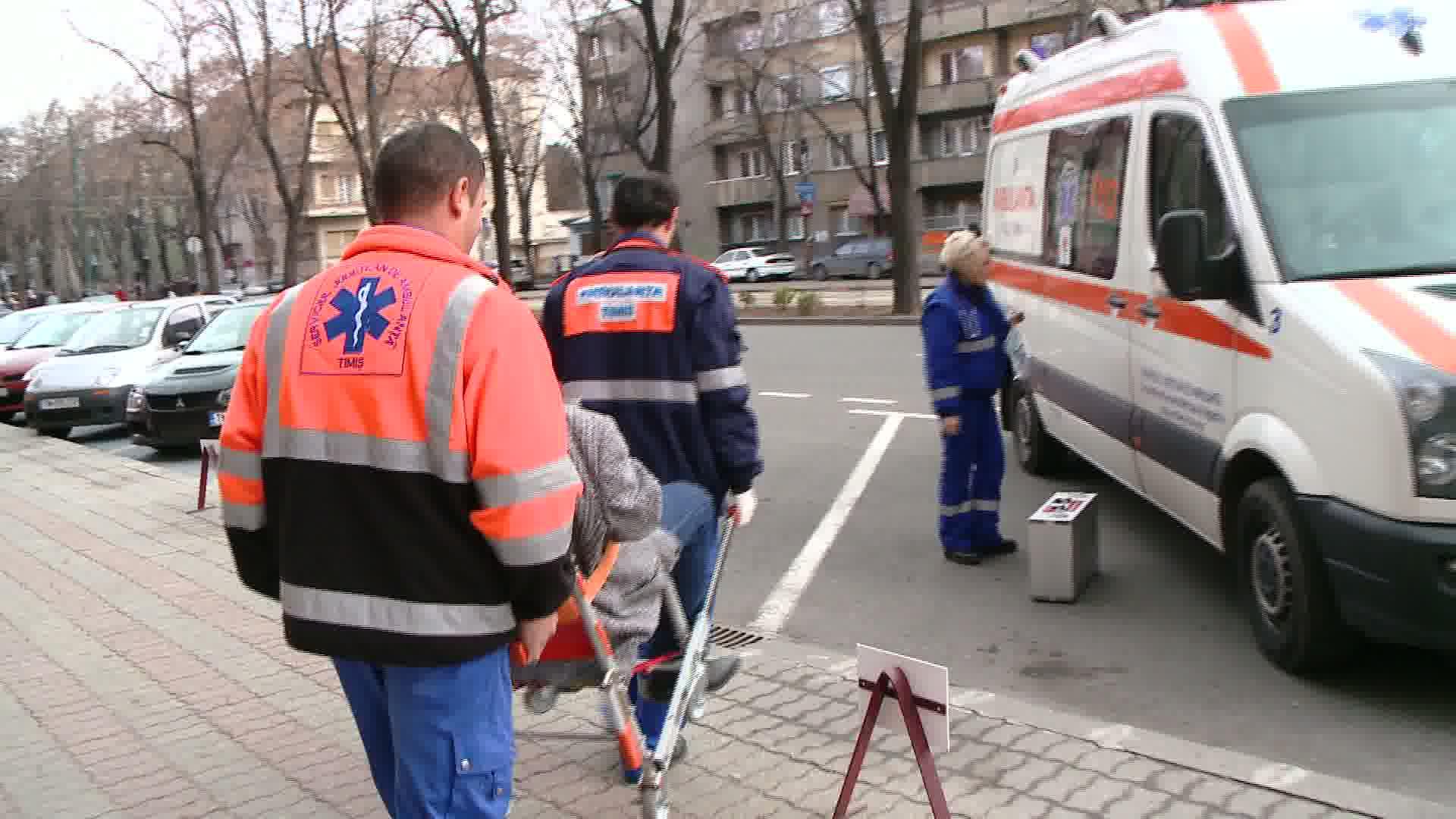 Un angajat al Consiliului Judetean Timis a facut preinfarct in timpul serviciului