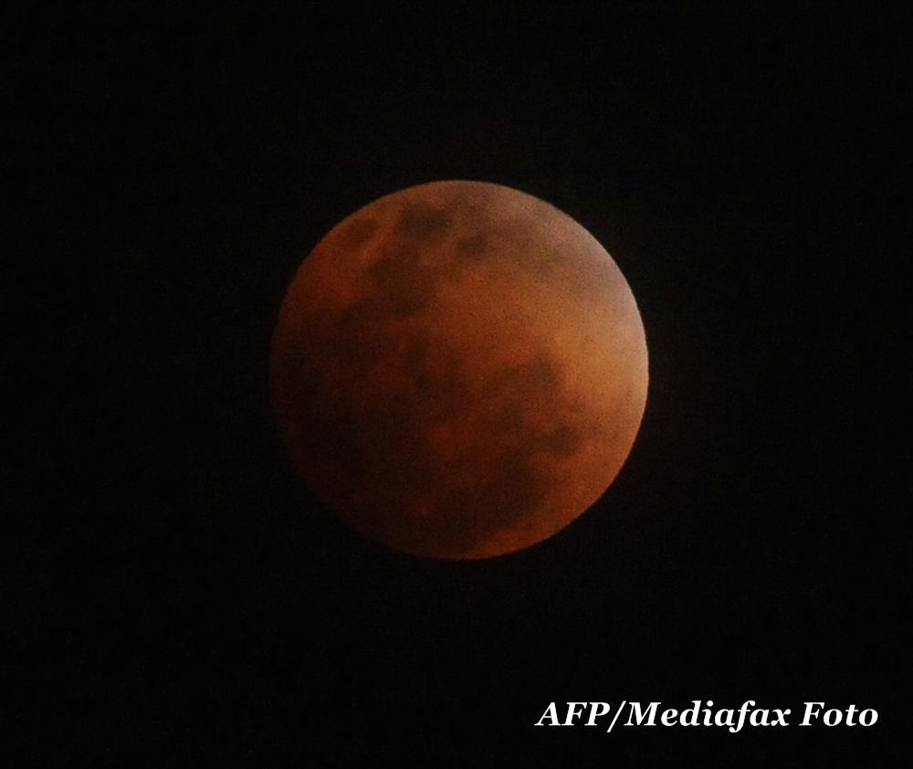Cum am vazut eclipsa de Luna pe care astronomii au numit-o