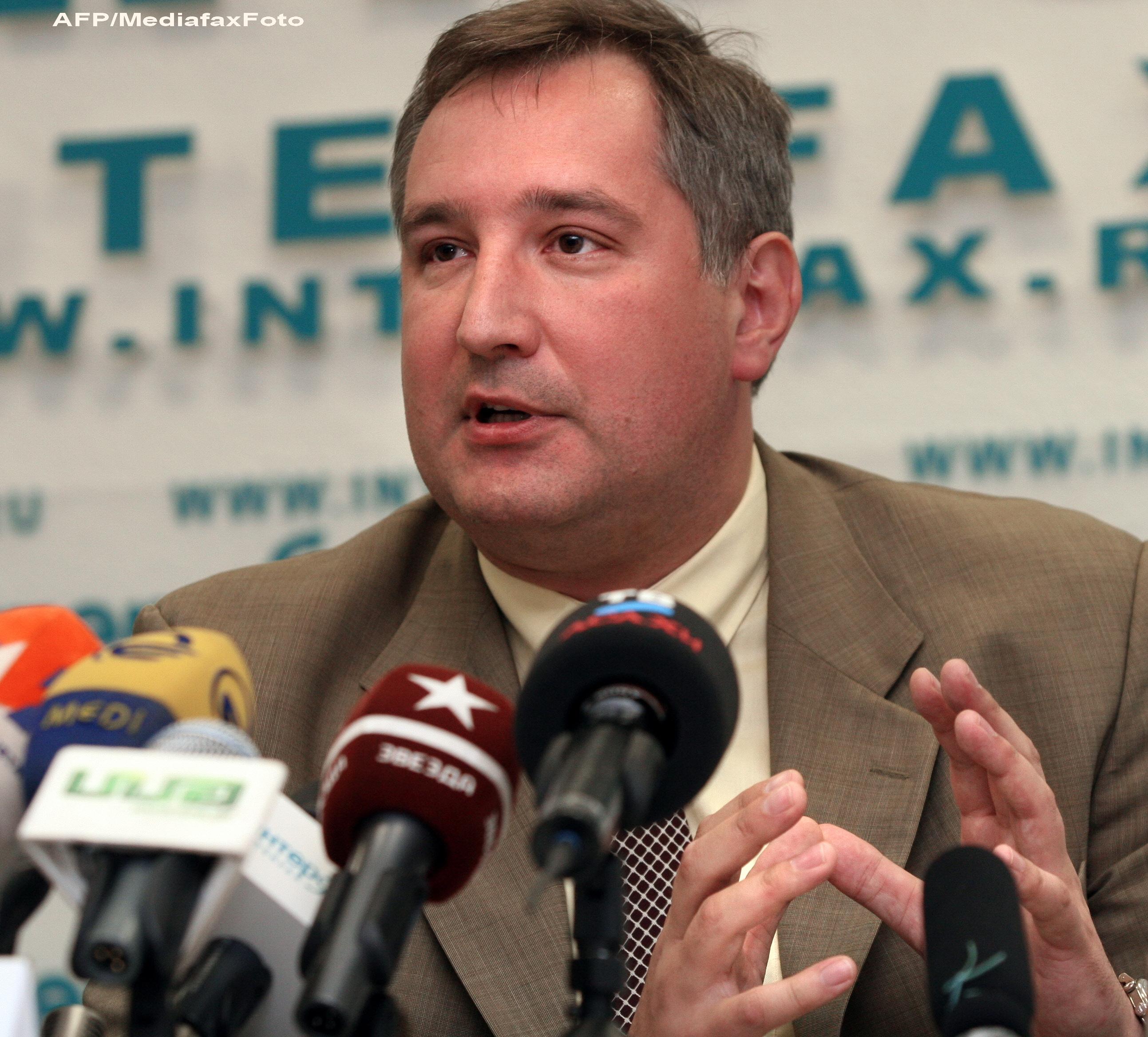 Dmitri Rogozin ataca Chisinaul dupa asocierea cu UE.