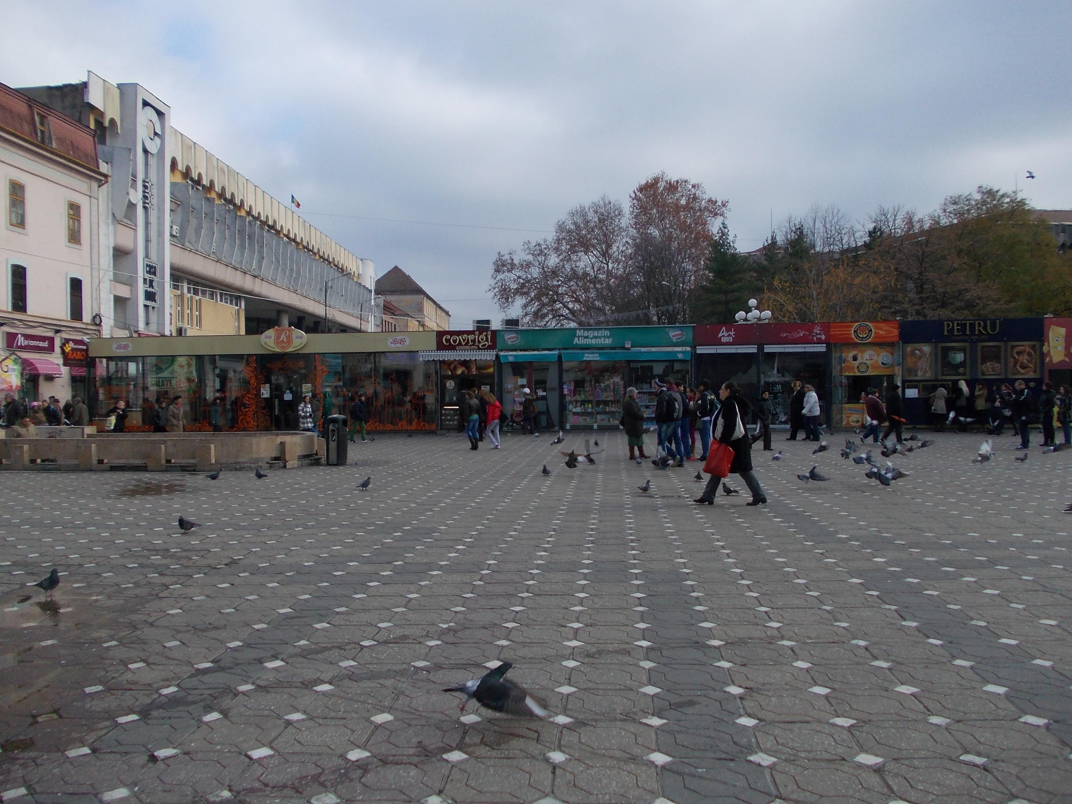 """""""Acvariul"""" din Piata Victoriei va fi indepartat. S-a semnat certificatul de urbanism pentru demolare"""