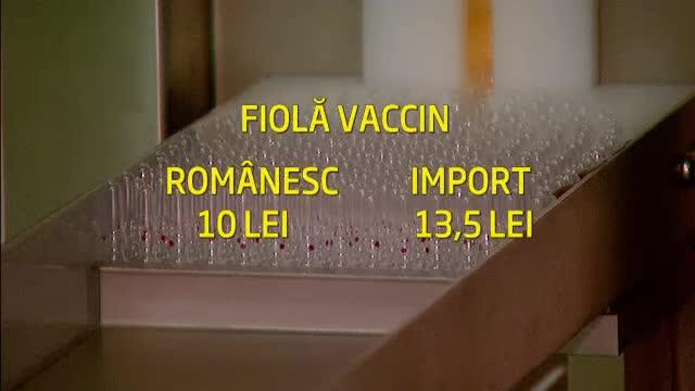 Primele doze de vaccin antigripal produse la Cantacuzino, dupa 3 ani