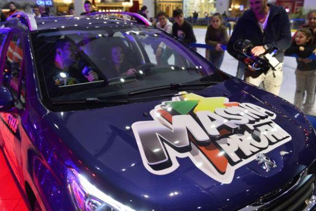 Masina ProFM a ajuns la cel mai norocos ascultator in seara de Mos Nicolae