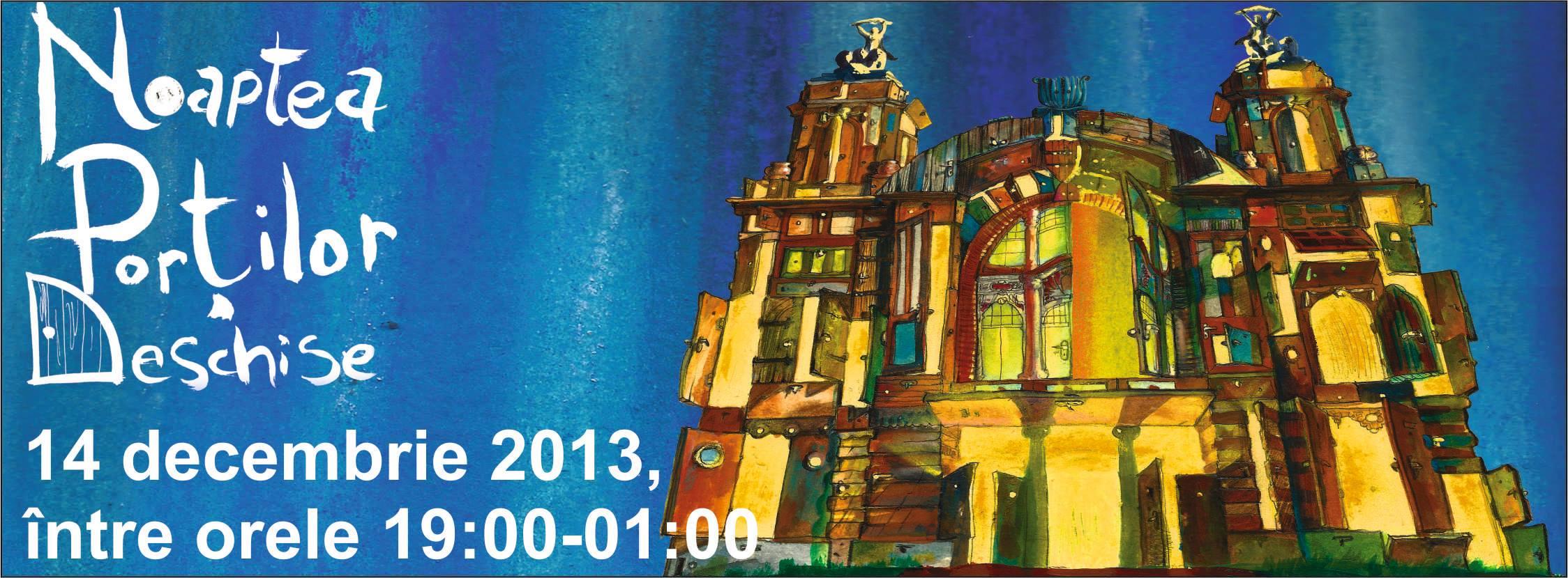 Noaptea portilor deschise la Teatrul National Cluj