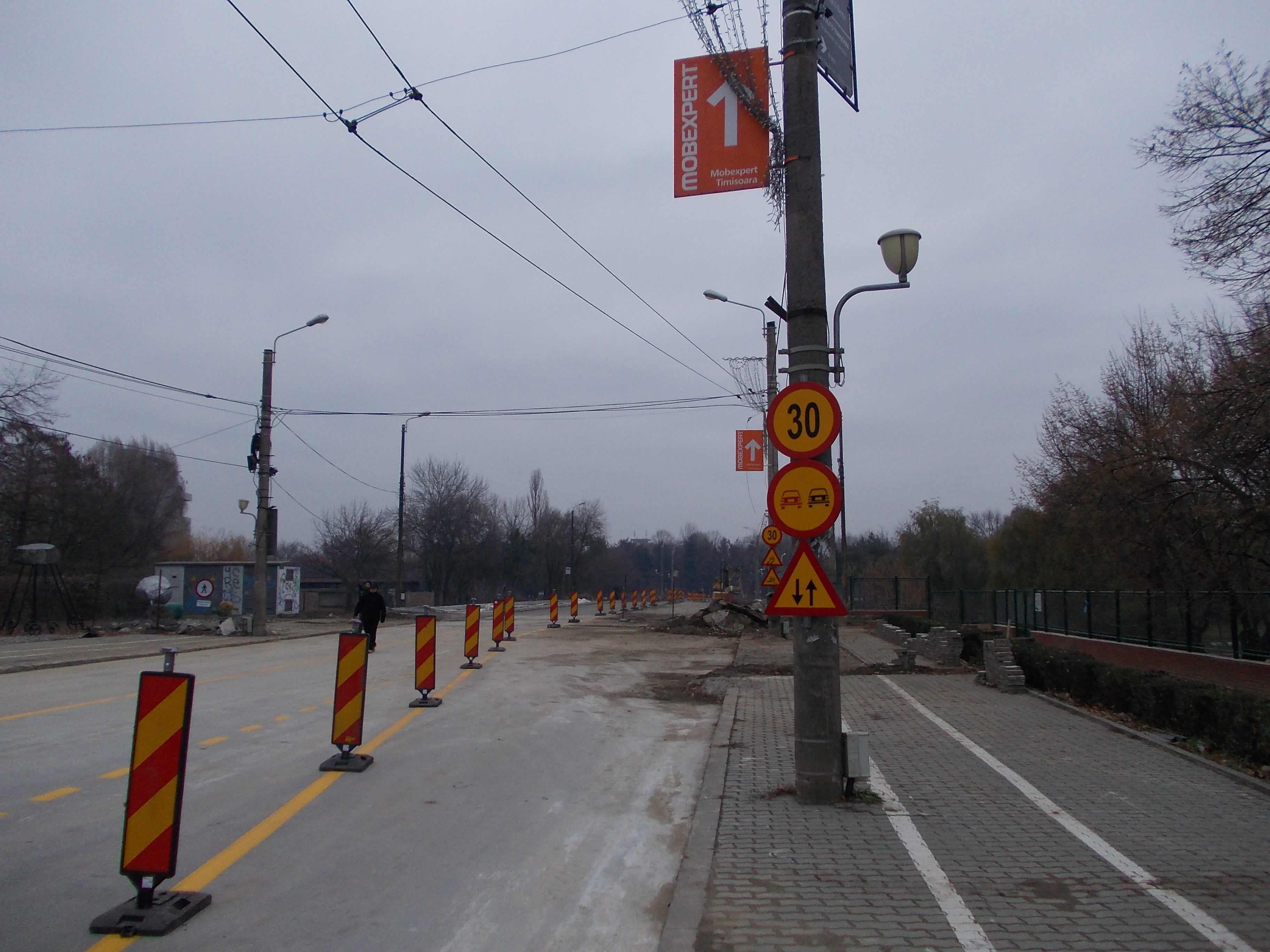 Traficul rutier in zona Michelangelo se inchide! Lucrarile la noul subpasaj avanseaza. Ce rute alternative au soferii