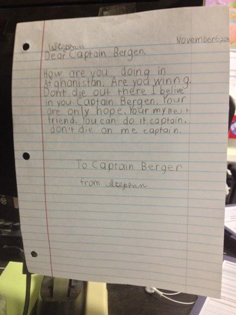 MESAJE DE CRACIUN. Scrisoarea unui copil de 7 ani inainte de Craciun