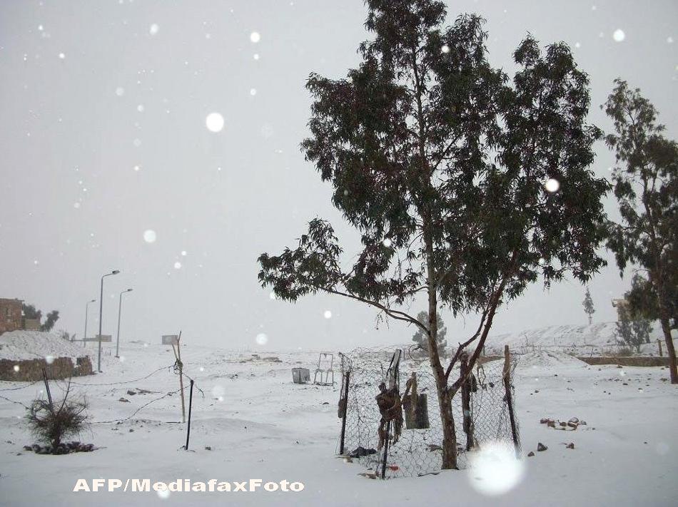 Zapada pe piramide. In Cairo a nins pentru prima data dupa mai mult de 100 de ani. FOTO si VIDEO