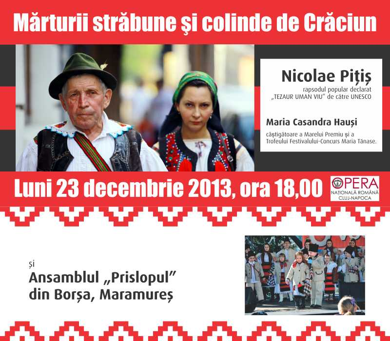 Nicolae Pitis, numit tezaur uman viu, revine la Cluj de Craciun