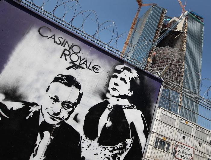 Banca Centrala Europeana schimba fata Frankfurtului cu ajutorul celor mai mari artisti. GALERIE FOTO