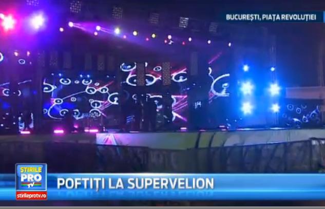 SuperVelion 2014, in Piata Revolutiei. Suprizele petrecerii organizate de Pro TV si Pro FM