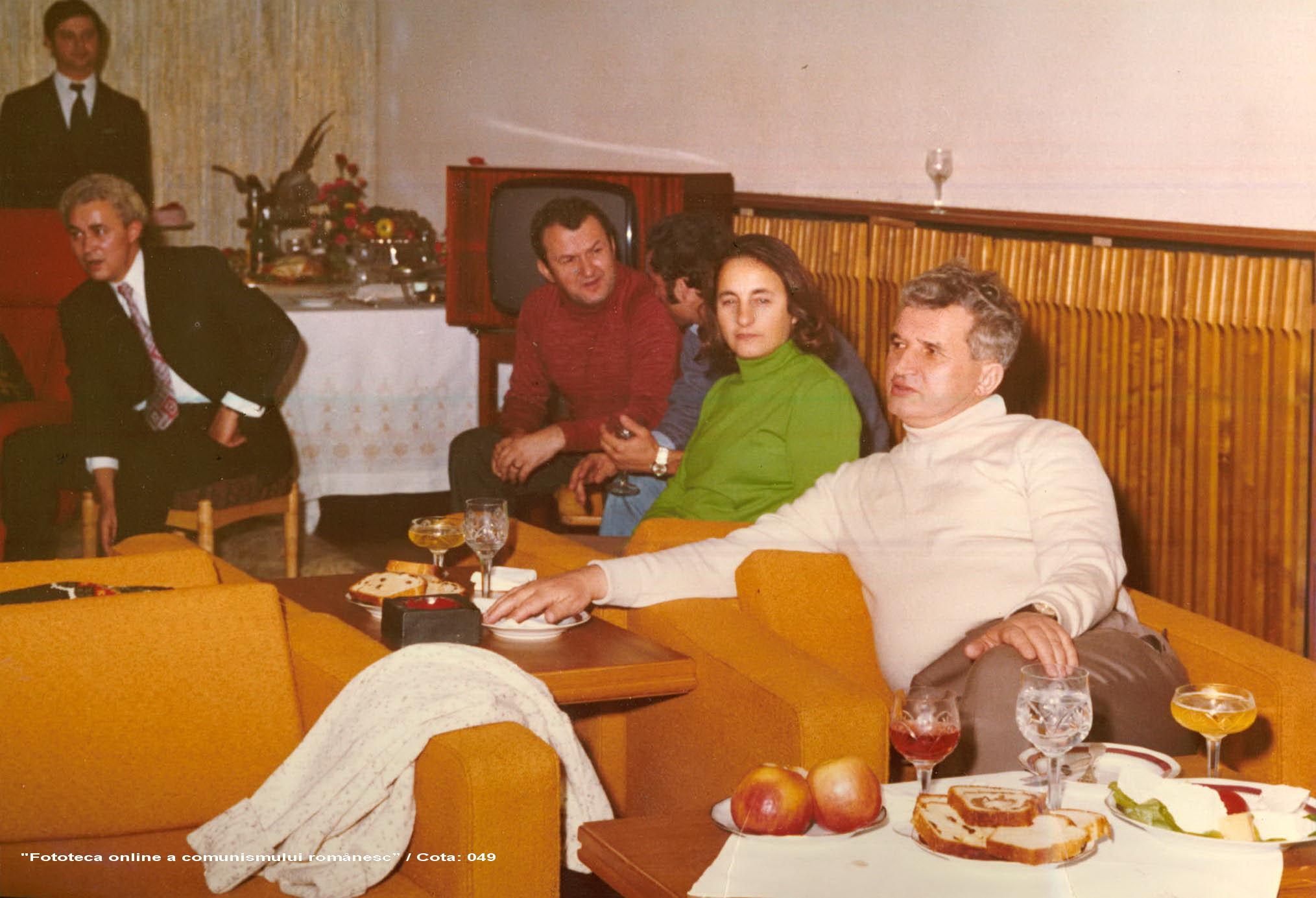 Cuplul Ceausescu, dat ca exemplu negativ de un cleric musulman.