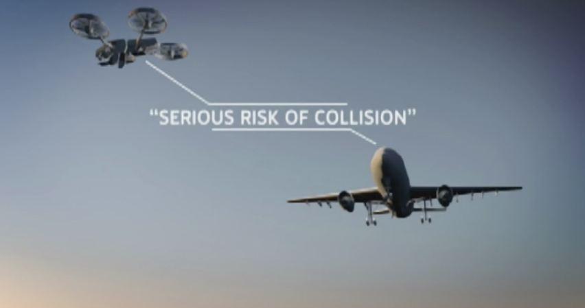 Sunday Times: Tragedie aviatica evitata in ultimul moment. Un avion de pasageri a fost cat pe ce sa fie lovit de o drona