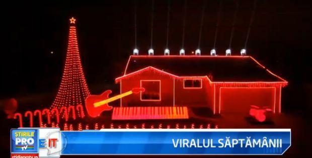 iLikeIT, viralul saptamanii: Cum iti poti impresiona vecinii cu cateva mii de beculete, lasere si boxe