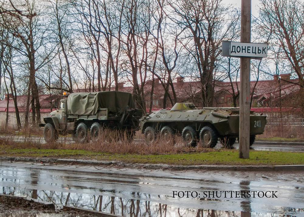 Razboiul e la un pas sa reizbucneasca in Ucraina, dupa 2 luni de armistitiu. Ce au fotografiat localnicii din Donetk