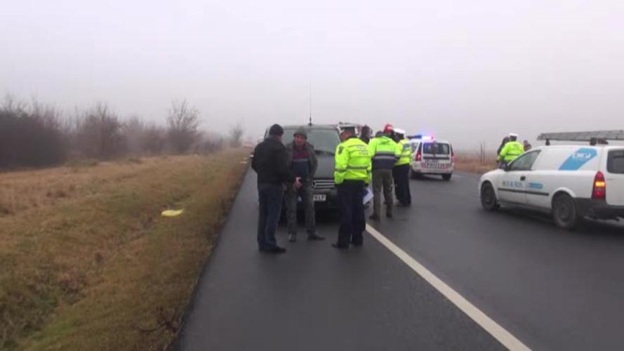 Accident cu trei morti, in judetul Vrancea. Un cunoscut cantaret a fost audiat de politisti in acest caz