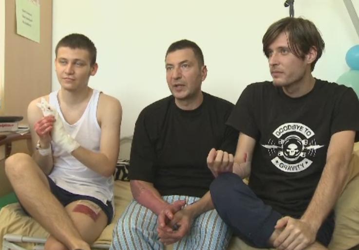 Trei raniti de la Colectiv au fost externati luni din Spitalul Bagdasar Arseni.