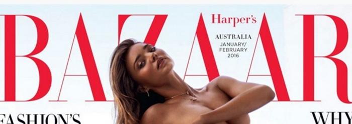 Un magazin din Marea Britanie a retras de la vanzare revista Harper's Bazaar. Clientii s-au plans ca este