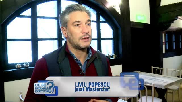 Liviu Popescu aduce la Masterchef o componenta atipica: expertiza sa in zona de afaceri. Prima lectie a lui, ca jurat
