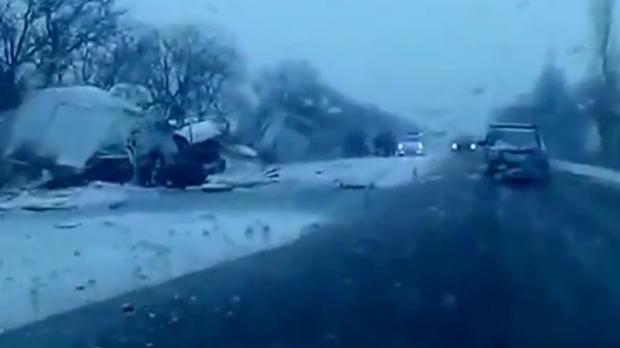 Accident in lant, petrecut in Siberia. 11 persoane au murit pe loc, printre care 9 copii. Cum s-a produs tragedia