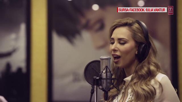 Iulia Vantur s-a lansat in muzica alaturi de unul dintre cei mai cunoscuti cantareti din India. Ce melodie a cantat in hindi