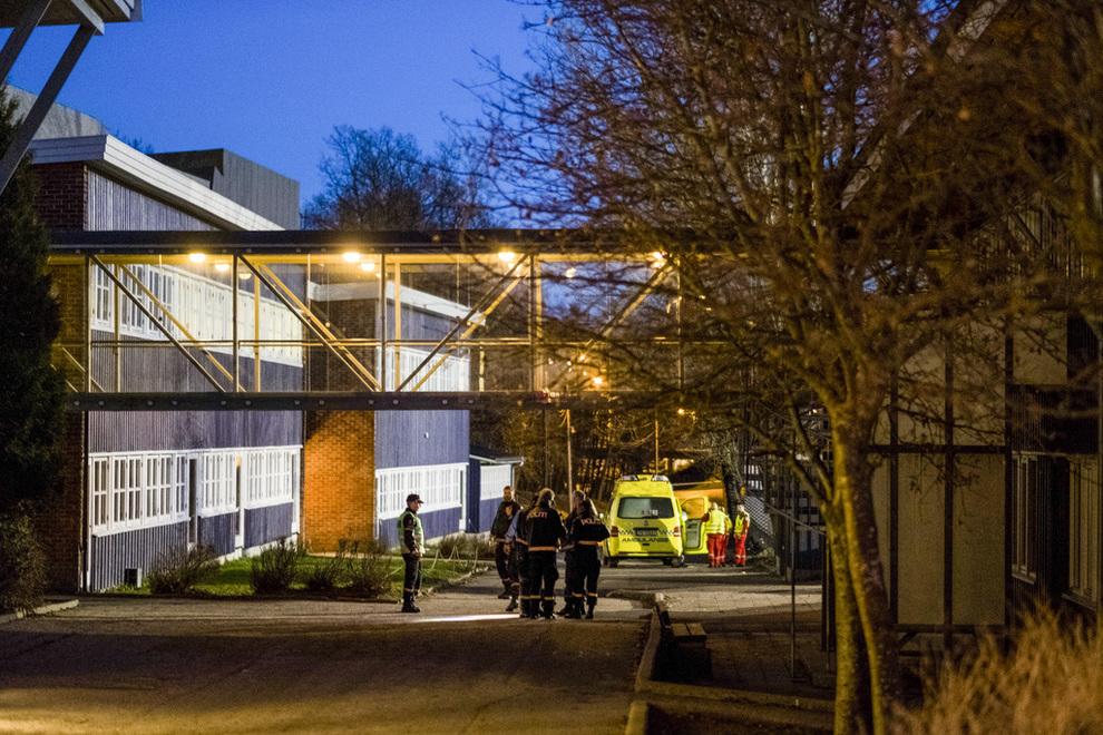O femeie si un copil, injunghiati mortal langa o scoala din orasul norvegian Kristiansand. Autorul este cautat de Politie