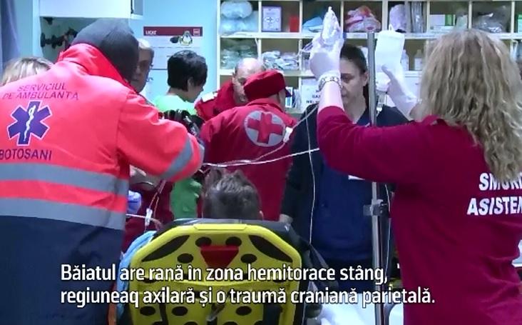 Conflict incheiat sangeros intr-un bar din Botosani. Doi tineri au ajuns la spital dupa ce au fost injunghiati de un localnic