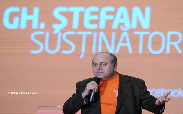 Fostul lider PDL Gheorghe Stefan