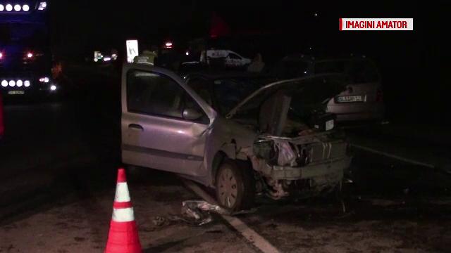 Un sofer baut din Bistrita a provocat un accident rutier in urma caruia 10 oameni au fost raniti. Cum s-a intamplat totul
