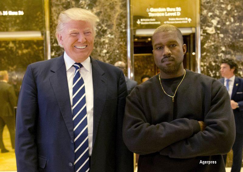 Intalnire intre Donald Trump si rapperul Kanye West la Trump Tower din New York. Ce au declarat cei doi la final