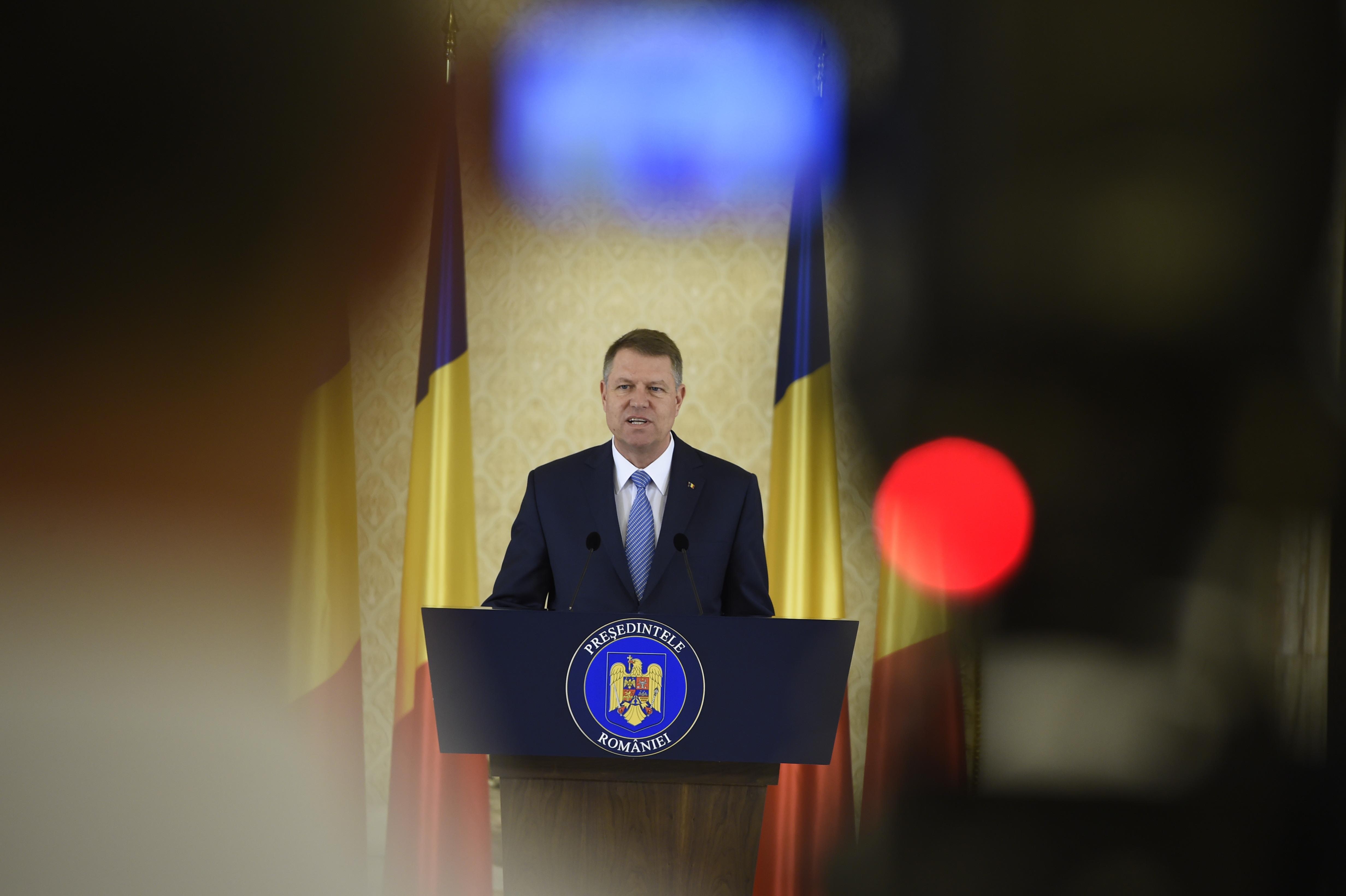 Mesajul transmis de Klaus Iohannis PSD-ului: