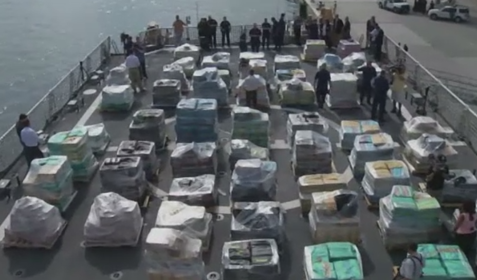 Captura uriasa in Florida. Paza de coasta a confiscat cocaina de 715 milioane de dolari