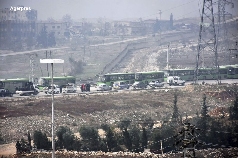 Evacuarea civilor din Alep a fost suspendata. Presedintele Bashar al-Assad a anuntat insa ca