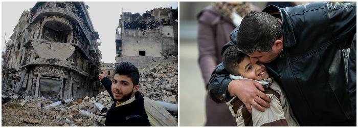 30.000 de oameni, printre care femei si copii, asteapta sa fie evacuati din Alep.