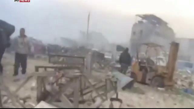 Cel putin 42 de morti intr-un raid aerian care a vizat o moschee de langa Alep. Atacul, lansat de avioane de razboi