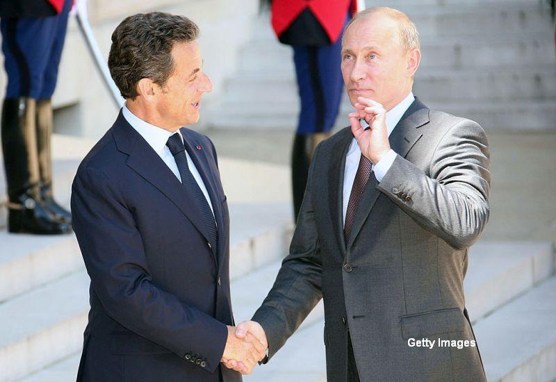 Cum l-ar fi umilit Vladimir Putin pe Nicolas Sarkozy.