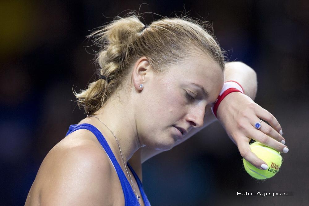 Petra Kvitova, operata dupa ce a fost injunghiata in timpul unei tentative de jaf.