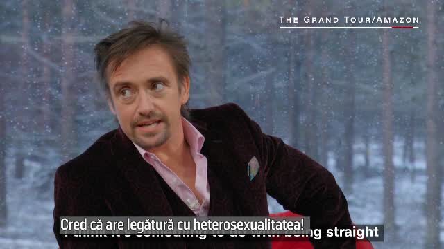 Richard Hammond, prezentatorul emisiunii The Grand Tour: