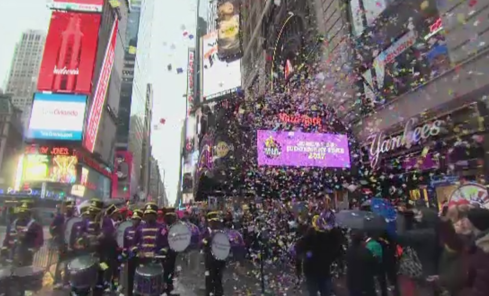 Repetitii pentru Anul Nou in Times Square. Primarul New Yorkului si seful politiei au promis un