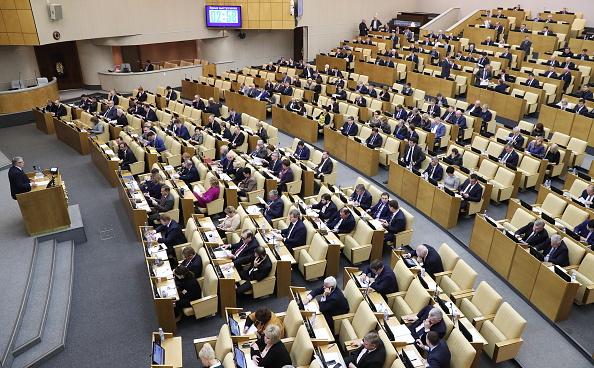Rusia ar putea interzice accesul presei americane în Duma de Stat